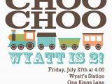 Train themed Birthday Invitations High Cotton Style Custom Train Birthday Party Invitation