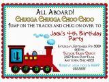 Train themed Birthday Invitations Train Birthday Party Invitations Ideas Bagvania Free