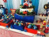 Train themed Birthday Party Decorations Thomas the Train Birthday Quot Train and Balloons Quot Catch