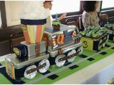 Train themed Birthday Party Decorations Train theme Party Planning Ideas Supplies Children 39 S