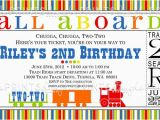 Train Ticket Birthday Invitation Template 9 Train Birthday Invitations for Kid Free Printable