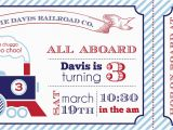 Train Ticket Birthday Invitation Template Diy Train Party Invitations Party Invitations Ideas
