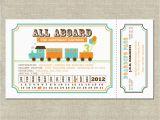 Train Ticket Birthday Invitation Template Kara 39 S Party Ideas Invitation Celebration Target Amazon