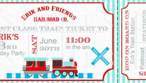 Train Ticket Birthday Invitation Template Train Ticket Birthday Invitation Template Best Party Ideas