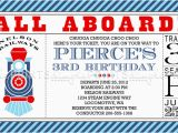 Train Ticket Birthday Invitation Template Train Ticket Printable Birthday Invitation Dimple Prints