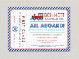 Train Ticket Birthday Invitation Template Train Tickets Birthday Invitations Best Party Ideas