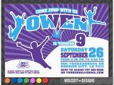 Trampoline Park Birthday Party Invitations Altitude Trampoline Park Trampoline Party Invitation Bounce
