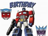 Transformers Birthday Cards Kids Greeting Cards