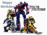 Transformers Birthday Cards Transformers Birthday Cards