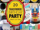 Transformers Birthday Decorations 20 Transformers Birthday Party Ideas We Love Spaceships