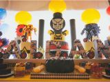 Transformers Birthday Decorations Kara 39 S Party Ideas Transformers 4th Birthday Party Kara