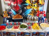 Transformers Birthday Decorations Transformers Birthday Party Amidst the Chaos