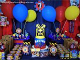 Transformers Birthday Decorations Transformers Birthday Party Decorations On A Budget Plus