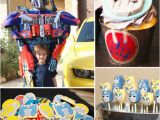 Transformers Birthday Decorations Transformers Birthday Party Popsugar Moms