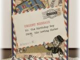Travel themed Birthday Cards Crafty Secrets Heartwarming Vintage Ideas and Tips