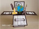 Travel themed Birthday Cards Handmade Card In A Box Unique Travel themed Happy Birthday