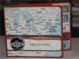 Travel themed Birthday Cards Sale Handmade Happy Birthday Card Travel theme by Jakeandtonys