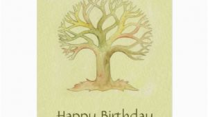 Tree Of Life Birthday Card Colorful Tree Of Life Birthday Card Zazzle