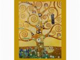Tree Of Life Birthday Card Tree Of Life by Klimt Greeting Card Zazzle