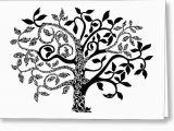 Tree Of Life Birthday Card Tree Of Life Painting by Anushree Santhosh