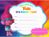 Trolls Birthday Card Printable Come Find Your Happy Place with Our Free Trolls Party