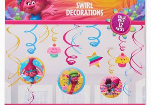 Trolls Birthday Invitations Walmart 90s Decorations Party City Oh Decor Curtain BirthdayBuzz