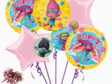 Trolls Birthday Invitations Walmart Dreamworks Trolls 7pc Balloon Bouquet Birthday Party