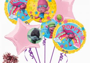 Trolls Birthday Invitations Walmart Dreamworks Trolls 7pc Balloon Bouquet Birthday Party
