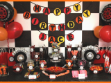 Truck Decorations for Birthday Party An eventful Party Monster Truck 5th Birthday eventful