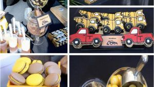 Truck Decorations for Birthday Party Kara 39 S Party Ideas Construction Truck Birthday Party