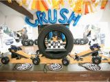 Truck Decorations for Birthday Party Kara 39 S Party Ideas Monster Truck Birthday Party Kara 39 S