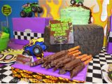 Truck Decorations for Birthday Party Nestling Monster Truck Party Reveal