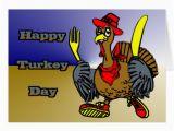 Turkish Birthday Card Happy Turkey Day Greeting Cards Zazzle