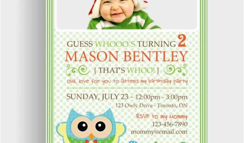 Turning 2 Birthday Invitations Custom 2nd Boy Printable
