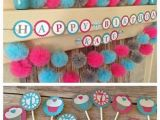 Turquoise Birthday Decorations 1000 Images About Pink Turquoise Party On Pinterest