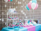Turquoise Birthday Decorations Quot Swimsuits and Snowballs Quot ashley 39 S 4th Birthday Party