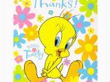 Tweety Birthday Card Tweety Bird Thank You Notes 8 Looney Tunes Birthday