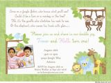 Twin Birthday Invitation Wording 12 Twin Birthday Invitations Templates Free Sample