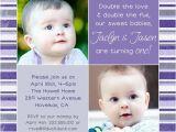 Twin Birthday Invitation Wording Birthday Invitation Cards Twin Birthday Invitations