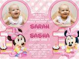 Twin Birthday Invites Twin Birthday Invitations Ideas Bagvania Free Printable