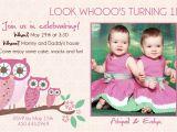 Twin Birthday Invites Twins Birthday Invitations Best Party Ideas