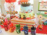Twins Birthday Decorations Kara 39 S Party Ideas Noah 39 S Ark Animal Rainbow Twins