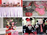 Twins Birthday Decorations Parti Miny Kai Miky Gia Didyma Minnie and Mickey Party