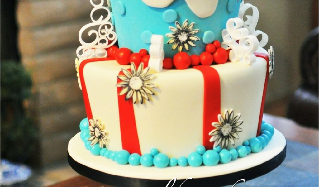 Twins Birthday Decorations Thing 1 2 Cake For