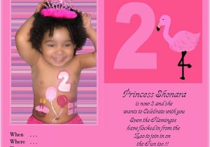Two Year Old Birthday Invitation Wording 2 Quotes