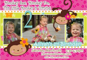 Two Year Old Birthday Invitations 2 Templates Free