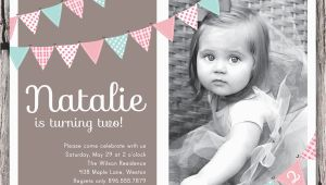 Two Year Old Birthday Invitations 2 Years Old Birthday Invitations Wording Drevio