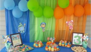 Umizoomi Birthday Decorations Team Umizoomi Birthday Party Ideas Photo 3 Of 6 Catch
