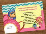 Umizoomi Birthday Invitations Items Similar to Team Umizoomi Milli Birthday Party