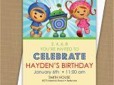 Umizoomi Birthday Invitations Team Umizoomi Birthday Invitation by Brownpaperstudios On Etsy